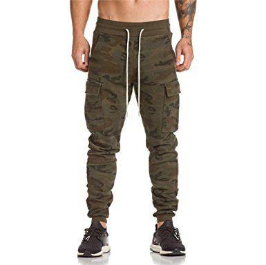 Pantalones camuflaje hombre