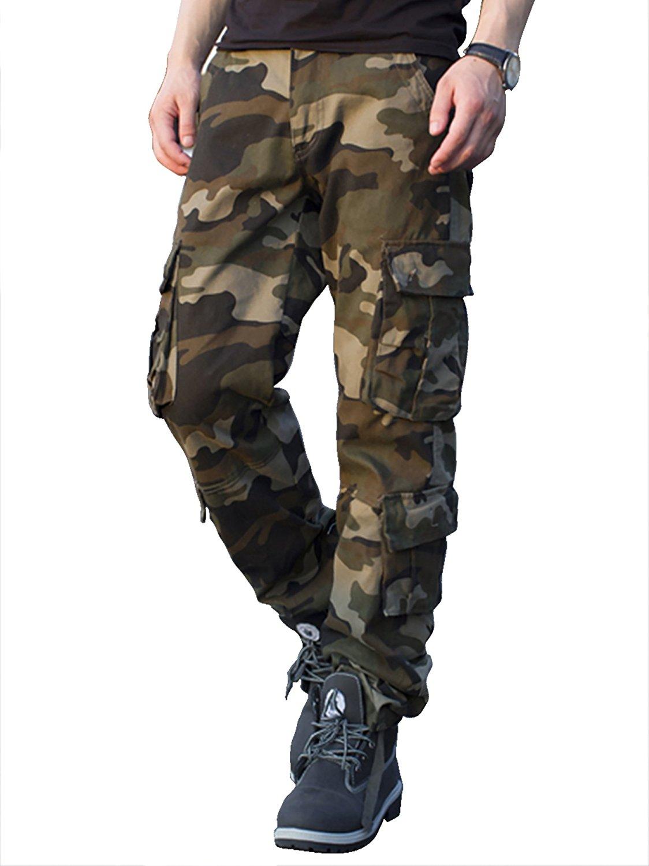 Pantalón camuflaje cargo