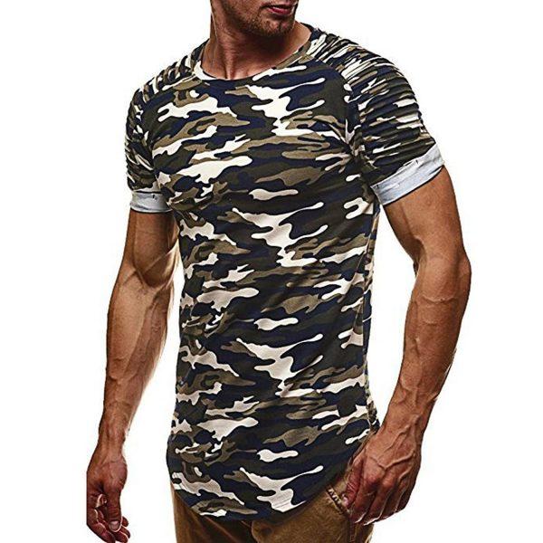 Camiseta camuflaje hombre