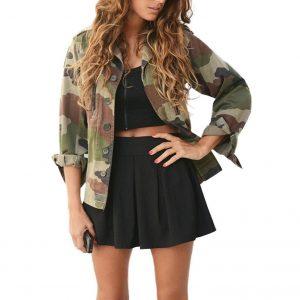 Chaqueta militar mujer