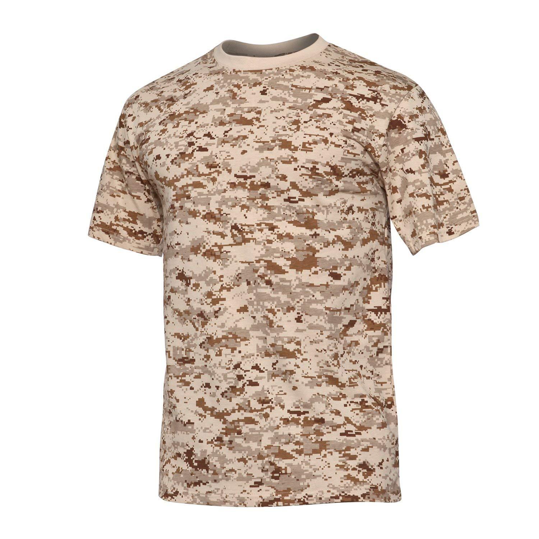 Camiseta senderismo camuflaje