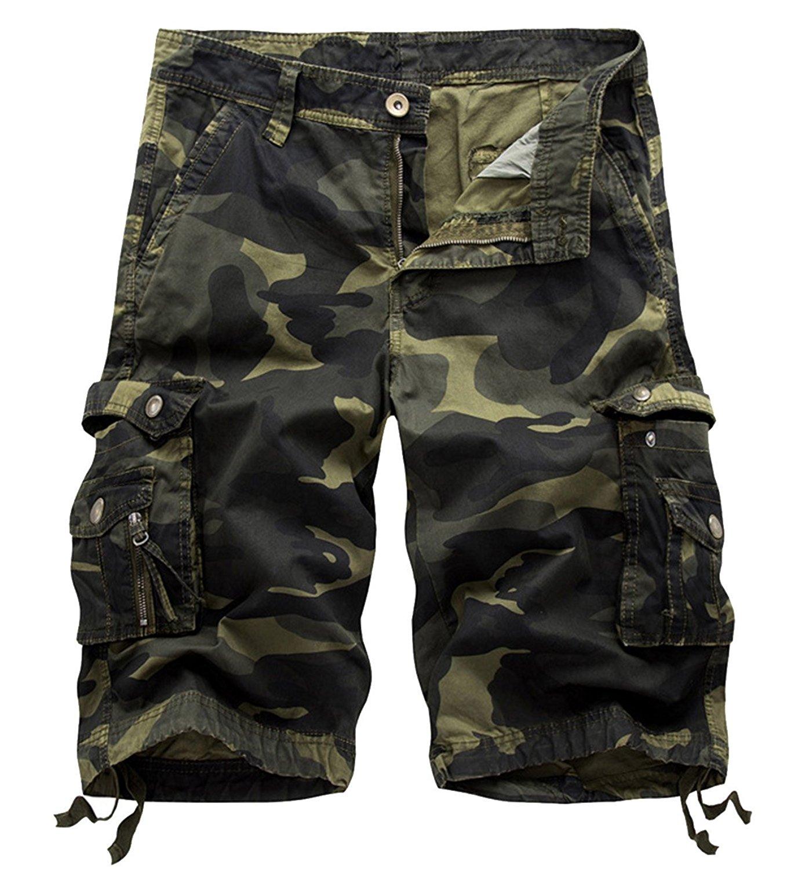 Pantalones cortos de camuflaje